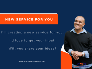 Survey-new-service-for-you-by-kingsley-grant